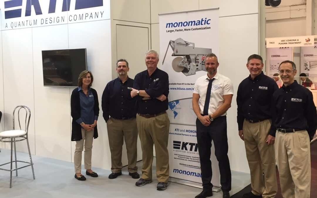 KTI / Monomatic at Labelexpo show 2017 in Brussels